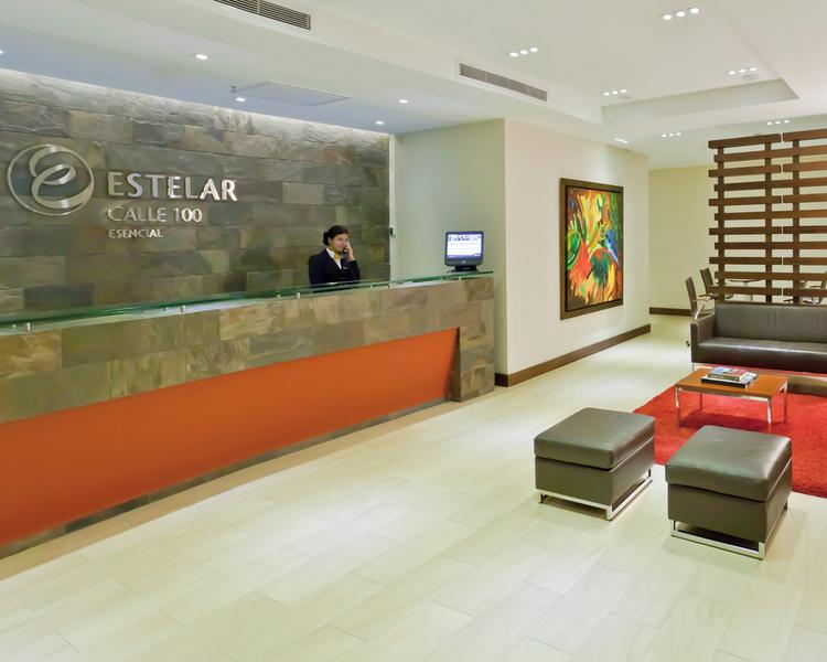 Lobby ESTELAR Calle 100 Hotel Bogota